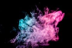 Fundo do fumo do vape imagem de stock