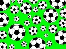 Fundo do futebol Fotografia de Stock Royalty Free