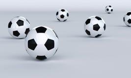Fundo do futebol Fotos de Stock
