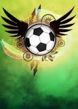 Fundo do futebol ou do futebol Imagens de Stock Royalty Free