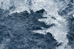 Fundo do gelo Fotos de Stock