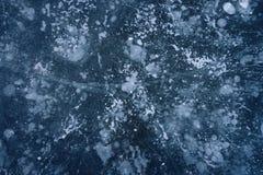 Fundo do gelo Fotografia de Stock