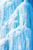 Fundo do gelo e dos sincelos Imagem de Stock