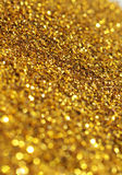 Fundo do Glitter do ouro imagens de stock