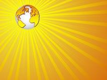 Fundo do globo do mundo Ilustração Royalty Free