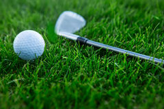 Fundo do golfe Foto de Stock Royalty Free