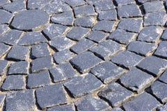 Fundo do granito do pavimento Imagens de Stock