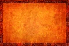 Fundo do Grunge com testes padrões tradicionais indianos americanos ilustração royalty free