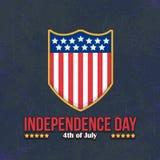 Fundo do grunge da independência Day Imagem de Stock