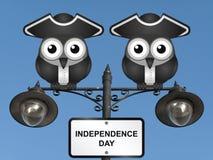 Fundo do grunge da independência Day Fotografia de Stock