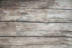 Fundo do Grunge da prancha de madeira resistida Imagem de Stock