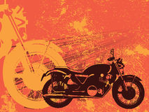 Fundo do grunge do velomotor Foto de Stock Royalty Free