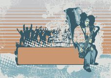 Fundo do grunge do vetor Fotografia de Stock Royalty Free