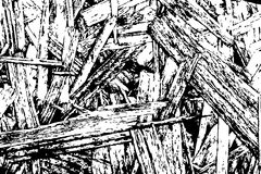 Fundo do Grunge Molde urbano preto e branco da textura do vetor do Grunge fotos de stock