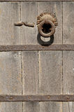 Fundo do Grunge - Rusty Antique Metal Door Knob Imagem de Stock