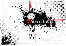 Fundo do handball Fotografia de Stock Royalty Free