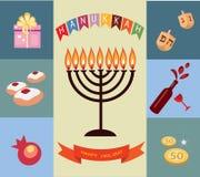 Fundo do Hanukkah Fotos de Stock Royalty Free