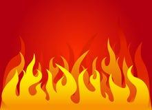 Fundo do incêndio ilustração do vetor