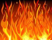 Fundo do incêndio ilustração royalty free