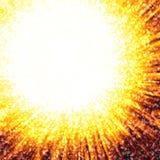 Fundo do incêndio & da luz Imagens de Stock