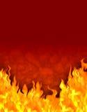 Fundo do incêndio do conto de fadas ilustração royalty free