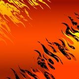 Fundo do incêndio vermelho ilustração stock