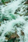 Fundo do inclinação da cachoeira foto de stock
