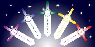 Fundo do informação-gráfico da espada Foto de Stock Royalty Free