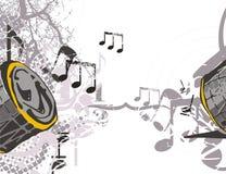 Fundo do instrumento de música ilustração do vetor