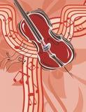 Fundo do instrumento de música Imagens de Stock