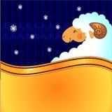 Fundo do inverno ilustração royalty free
