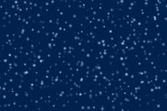 Fundo do inverno com flocos de neve Imagem de Stock Royalty Free