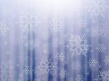 Fundo do inverno do vetor ilustração stock