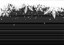 Fundo do inverno, flocos de neve Fotografia de Stock Royalty Free