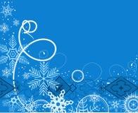 Fundo do inverno. Ilustração do vetor Fotos de Stock Royalty Free