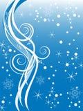 Fundo do inverno/Natal Imagem de Stock Royalty Free