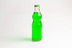 Fundo do isolado da bebida da garrafa Imagem de Stock