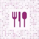 Fundo do jantar Imagens de Stock
