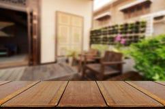 Fundo do jardim do quintal do vintage Foto de Stock