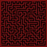 Fundo do labirinto Fotografia de Stock Royalty Free