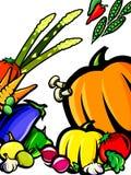 Fundo do legume fresco Imagem de Stock Royalty Free