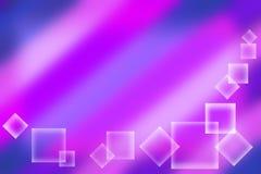 Fundo do Lilac com quadrados. Ilustração Stock