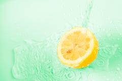 Fundo do limão Imagem de Stock Royalty Free