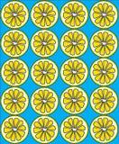 Fundo do limão Fotografia de Stock Royalty Free