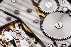 Fundo do maquinismo de relojoaria imagem de stock royalty free