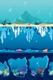 Fundo do mar ilustração stock