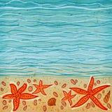 Fundo do mar Foto de Stock