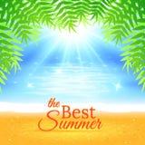 Fundo do mar do verão Imagem de Stock