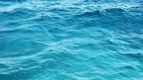 Fundo do Mar Vermelho Fundo da água cor de turquesa da água video estoque