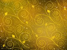 Fundo do marrom amarelo Fotos de Stock